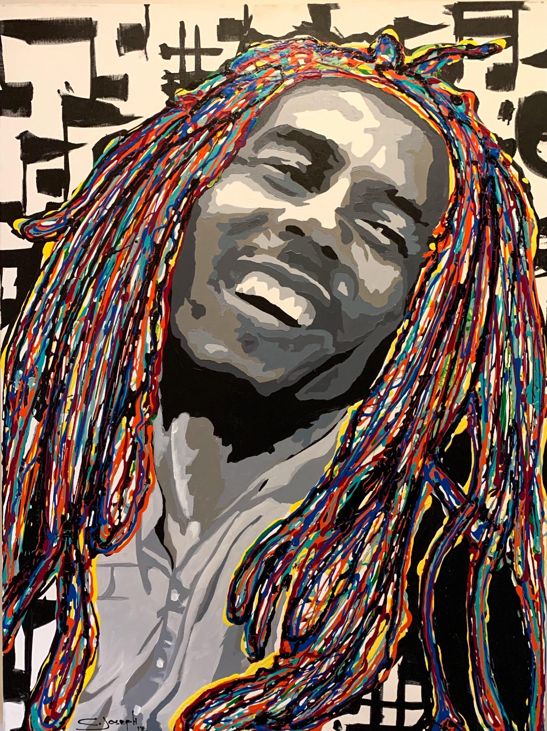 Bob Marley by Christoper Joseph